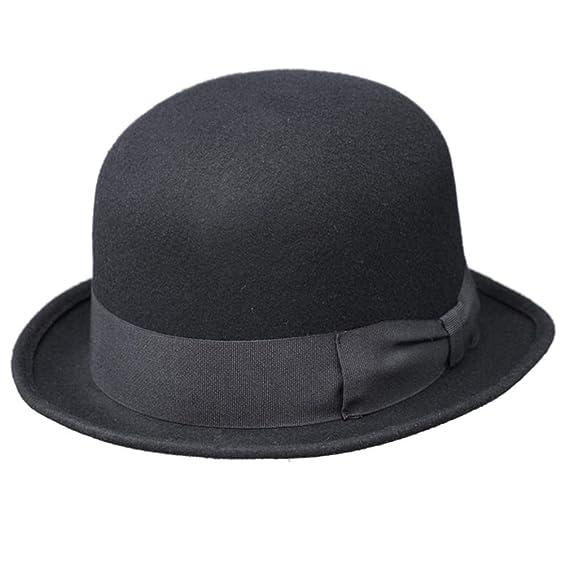 bfa126fb9b444 WEROR - Chapeau Melon - Homme: Amazon.fr: Vêtements et accessoires
