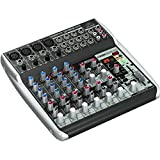 BEHRINGER QX1202USB Premium 12-Input 2-Bus Mixer with Xenyx Mic Preamps & Compressors British EQs Black