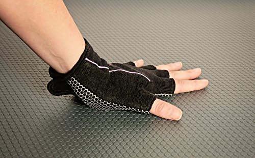 Wrist Assured Gloves -Pro Style (Small) (Best Wrist Support For Yoga)