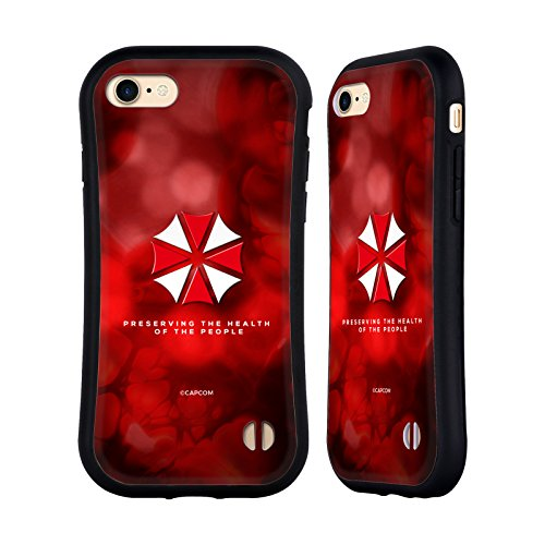 (Official Resident Evil Umbrella Logo Hybrid Case for iPhone 7 / iPhone 8)