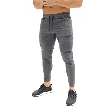 5141ec126417e ECHT Tapered Magnet Joggers V3 Men Pants Gym Wear Sweat Trousers Slim Fit  Bottoms (X