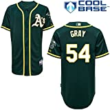 img - for 54 Sonny Gray Jersey Oakland Jerseys Baseball Jersey Mens Green Size XL book / textbook / text book