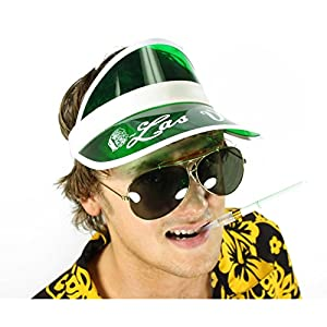Largemouth Raoul Duke Hunter S Thompson Fear & Loathing In LAS Vegas Costume Kit (Smoke Lenses)
