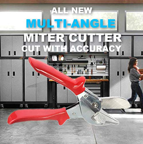 Multi Angle Miter Shear Cutter Hand Tool 45 Degree To 135 Degree