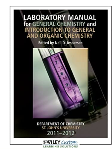 Laboratory manual for general chemistry 12th edition for st johns laboratory manual for general chemistry 12th edition for st johns univ jamaica neil d jespersen 9781118121887 amazon books fandeluxe Choice Image