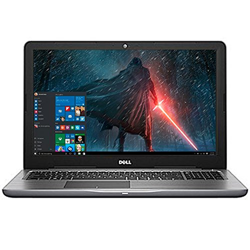 Business Dell Inspiron 15.6'' LED-Backlit Display Laptop PC Intel i5-7200U Processor 8GB DDR4 RAM 256GB SSD DVD-RW Backlit-keyboard HDMI 802.11ac Webcam Bluetooth Windows 10-Gray by Dell