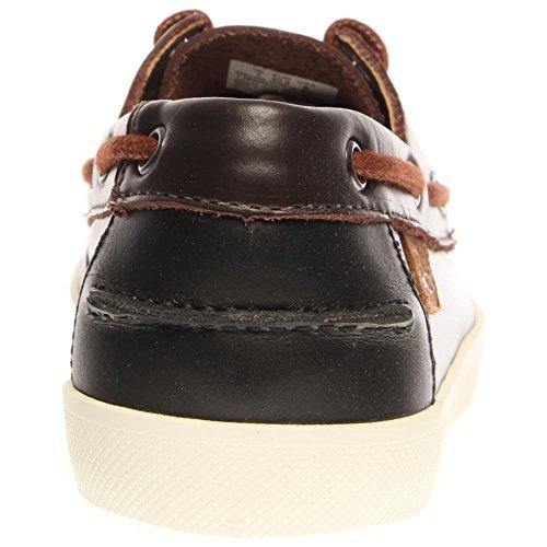 Bateau Premium 2 Keellson Lacoste Chaussures Marron Foncé Cuir wpdtOn