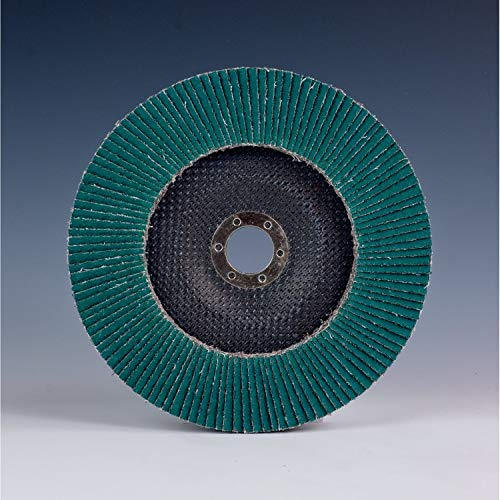 3M Flap Disc 577F, T27, Giant, 4-1/2 in x 7/8 in, 60