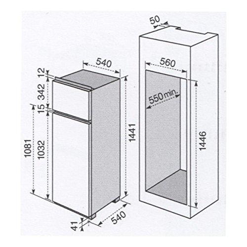 Electrolux Rex encastrable combiné réfrigérateur-FI 252/2T à 54 cm