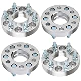 Nissan Frontier Adapters - ECCPP 6x114.3 Wheel Spacers Hubcentric 1 inch 6 lug Wheel Spacer 6x4.5 to 6x4.5 66.1mm fits for 2005-2014 Nissan Frontier Nissan Pathfinder Nissan Xterra with 12x1.25 Studs