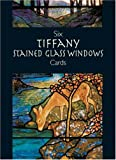 img - for Six Tiffany Stained Glass Windows C (Small-Format Card Books) by Tiffany (2003-03-28) book / textbook / text book