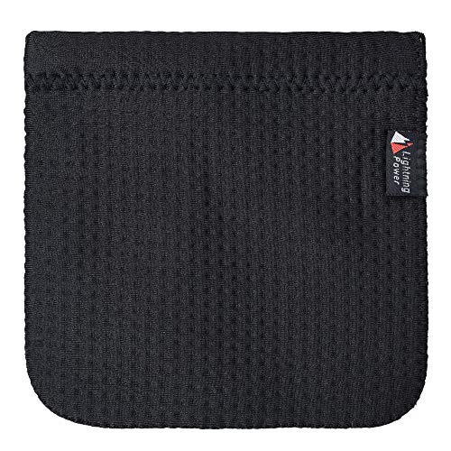 TXEsign 4 x 4 inch Neoprene Protective Carrying Snap Case Bag Pouch Compatible with Earphones /Cables etc (Earbud Case)