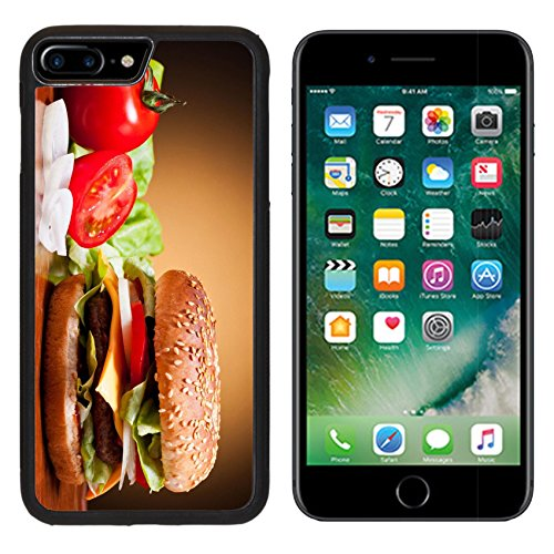 Vegetable Still Life - MSD Premium Apple iPhone 7 Plus Aluminum Backplate Bumper Snap Case IMAGE ID: 13968842 traditional hamburger and vegetables still life