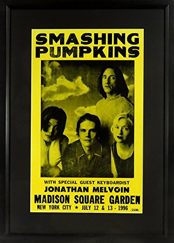 Smashing Pumpkins at Madison Square Garden Concert Poster (Framed)