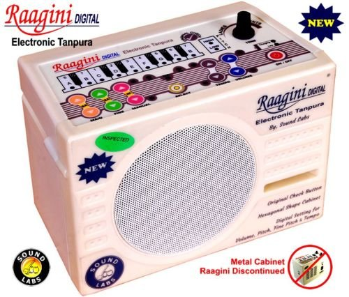 RAAGINI DIGITAL ELECTRONIC ~ TANPURA TAMBORA PLAY WITH TABLA ~ ESRAJ ~ SITAR by Chopra