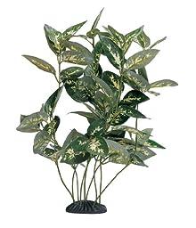 Marina Ecoscaper Houttoynia Cordata Plant, Silk, 12-Inch
