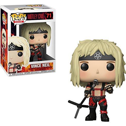 Funko Vince Neil POP! Rocks x Mötley Crüe Vinyl Figure + 1