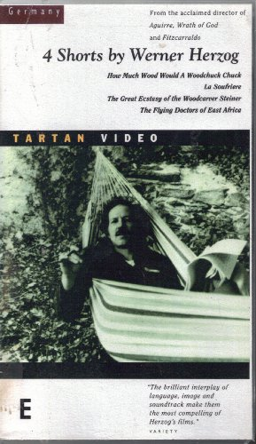 4 Shorts by Werner Herzog: How Much Wood Would a Woodchuck Chuck / La Soufrière / The Great Ecstasy of the Woodcarver Steiner / The Flying Doctors of East Africa [VHS]