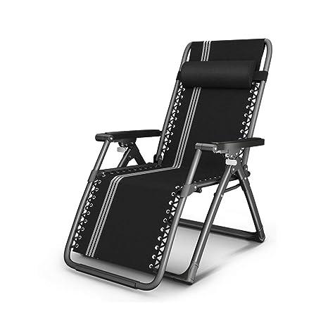 LJHA tumbona Sillas de cubierta, sillas de cubierta ...
