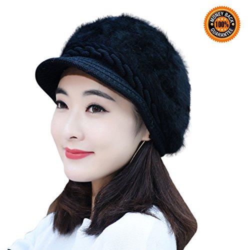 40662fb6a69 Women Fashion Winter HINDAWI Crochet. Review - Women Fashion Winter Hats ...