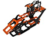 Rakon CNC AL and CF Main Frame Set - Blade 230S ORANGE