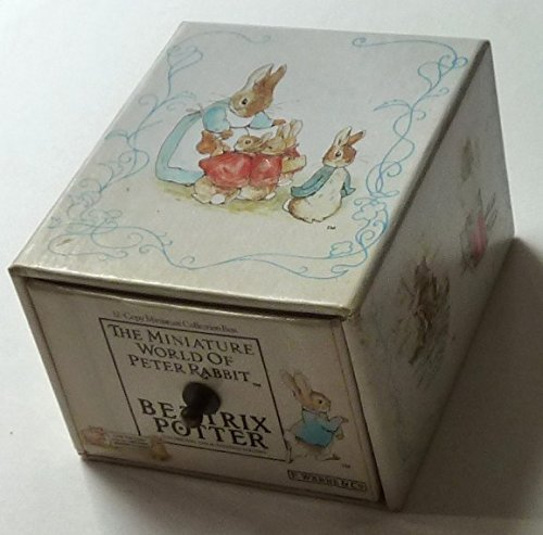 The Miniature World of Peter Rabbit: 12-Copy Miniature Collection Box (The World of Beatrix Potter) by Warne