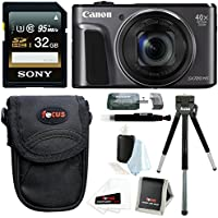 Canon PowerShot SX720 HS Digital Camera w/ 32GB SD Card & Accessory Bundle Overview Review Image
