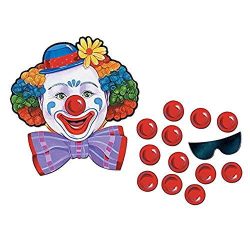 Circus Clown Game (Pin The Nose On The Clown)