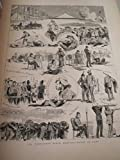 The Graphic Illustrated Newspaper:Royal Agriculture Society Show - Wimbledon Rife Meeting - Military Review in Windsor Great Park - Flounder Fishing At Waterloo Bridge - Scenes At A Fire At Tokio (Toyko),Japan - House of Commons Illustrated