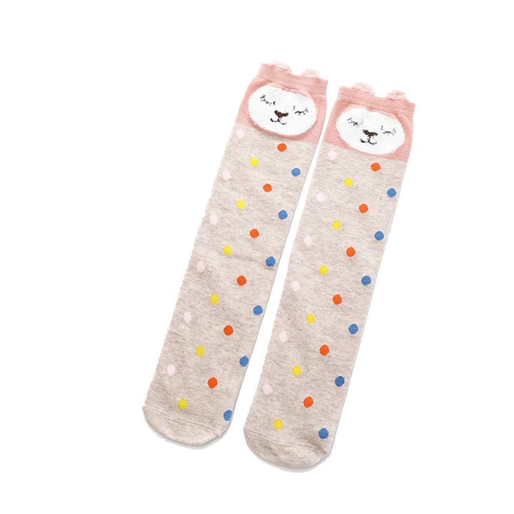 Jelinda Kids Girls Leg Warmer Lace Button Boot Cuffs Toppers Stockings Socks Gifts for Children