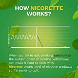 Nicorette 4mg Nicotine Gum to Quit Smoking