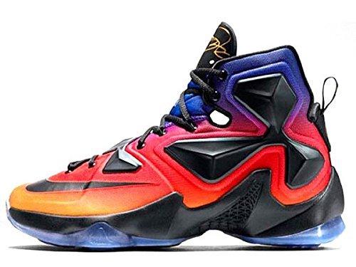 Lebron XIII 13 DB Doernbecher Basketball Shoes For Mens purple red US7 (Lebron 13 Halloween)