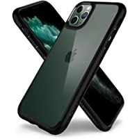 Spigen Ultra Hybrid, Designed for iPhone 11 Pro Case Cover with Shockproof Air Cushion and HD Clear Back Compatible with iPhone 11 Pro (2019) - Black