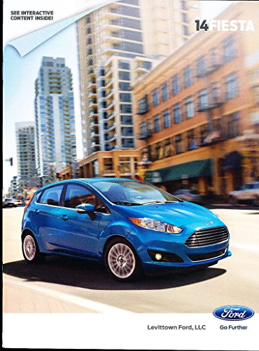 2014 Ford Fiesta 32-page Original Car Sales Brochure - ST SE Titanium