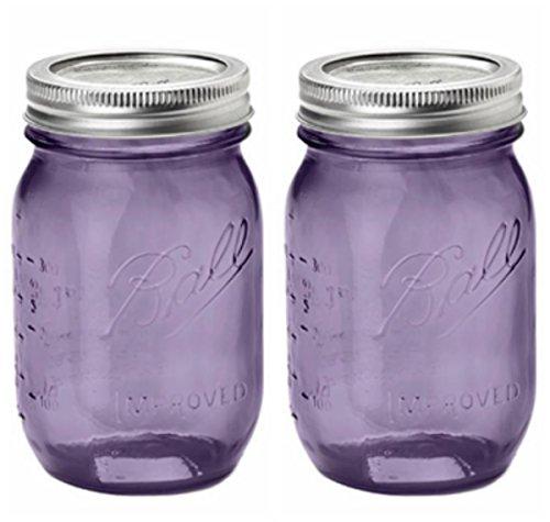 purple ball jars heritage - 5