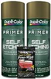 Dupli-Color General Purpose Self-Etching Primer (12 oz) Bundle with Prep Wipe Towelette (3 Items)