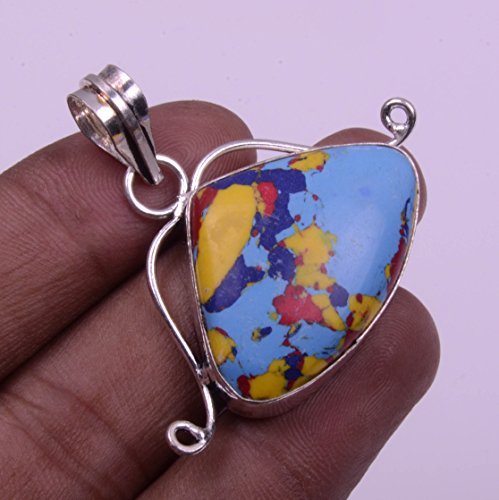 Nimbark Spiritual Jewelry Wonderful Mosaic Jasper Handmade Jewelry Pendant 1.5''