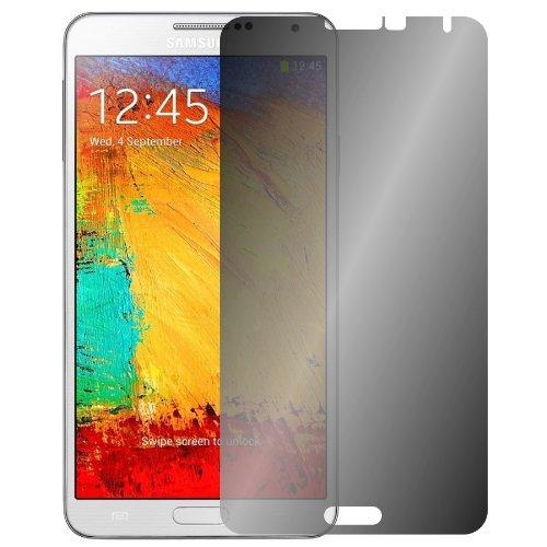 color negro Protector de pantalla con filtro de privacidad para Samsung Galaxy Note 3 Slabo #bs4874