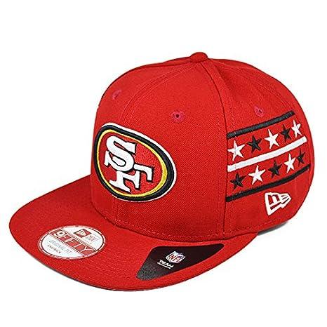 Amazon.com   San Francisco 49ers FINE SIDE Snapback 9Fifty New Era ... e644a17678c