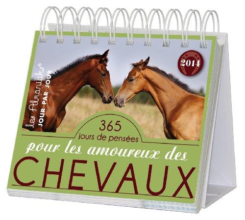 Almaniak Pensées pour les amoureux des chevaux 2014