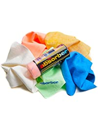 """The Mini Absorber Synthetic Drying Chamois, 17"""" x 13"""" (Color May Vary)"""