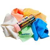 "Clean Tools The Mini Absorber Synthetic Drying Chamois, 17"" x 13"" (Color may vary),assorted"