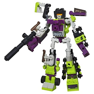 KRE-O Transformers Micro-Changers Combiners Construction Devastator Set (A2224): Toys & Games