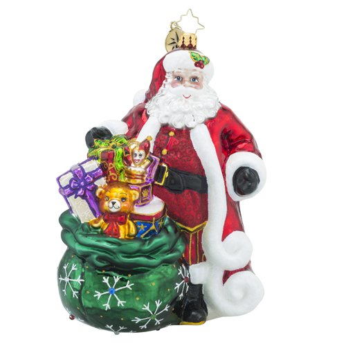Christopher Radko Promise to Please Designers Choice 2016 Christmas Ornament (Crystal Pendant Poland)