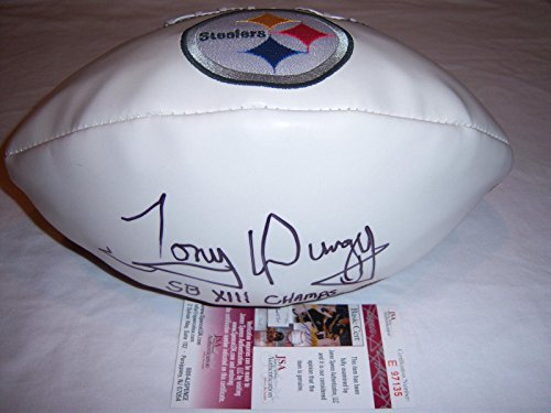 (Tony Dungy Signed Football - SB Champs coa - JSA Certified - Autographed Footballs)
