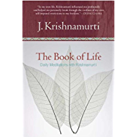 The Book of Life: Daily Meditations with Krishnamurti book cover