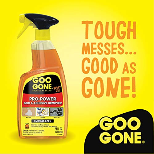 Goo Gone IUGYH Pro-Power Spray Gel - 24 Ounce - Surface Safe, Great Cleaner, No Harsh Odors, Removes Stickers, Can Be Used On Tools 2 Pack by Goo Gone (Image #3)