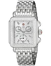 Women's MWW06P000099 Deco Analog Display Swiss Quartz Silver Watch