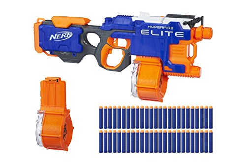 Nerf N-Strike Elite HyperFire Blaster (with Bonus Drums and 25 Extra Darts)