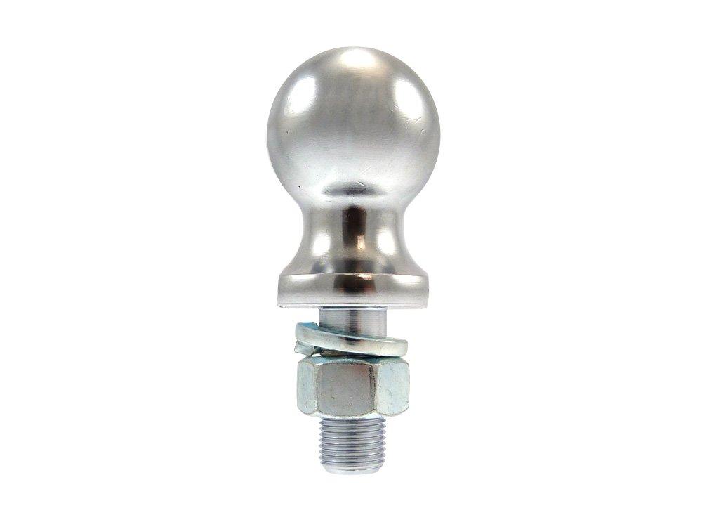 Boule d'attelage - QUADRAX - Chrome - Ø 50mm - Quad/Buggy